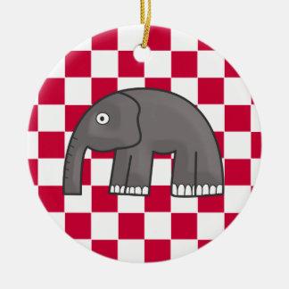 elefante adorno de reyes