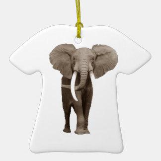 Elefante Adorno De Cerámica En Forma De Camiseta