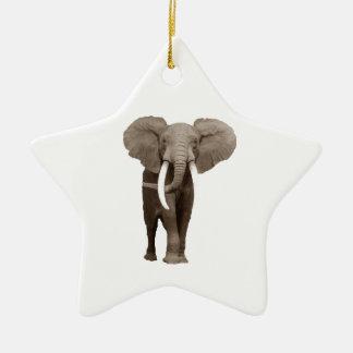 Elefante Adorno De Cerámica En Forma De Estrella