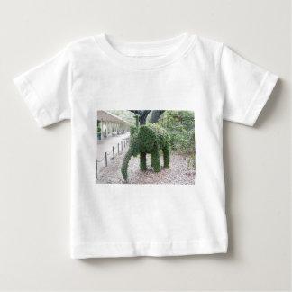 Elefante del árbol playera de bebé