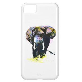 Elefante del arte pop funda para iPhone 5C