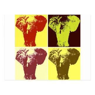Elefante del arte pop