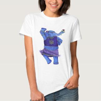 Elefante del baile playera