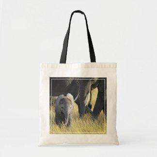 Elefante del bebé bolsa tela barata