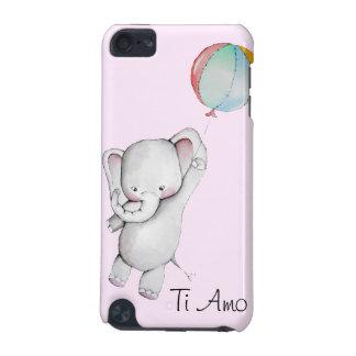 Elefante del bebé con el caso del tacto 5g de iPod
