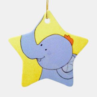 Elefante del bebé adornos de navidad