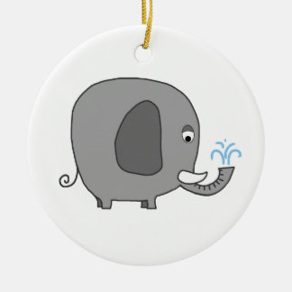 Elefante del bebé ornato