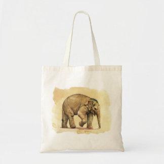 Elefante del bebé por schukina bolsa tela barata