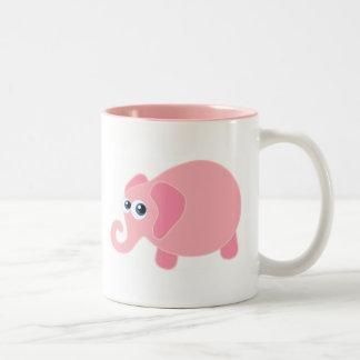 Elefante del bebé tazas de café