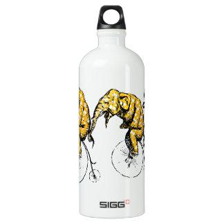 Elefante del circo botella de agua