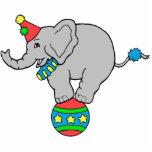 Elefante del circo esculturas fotograficas