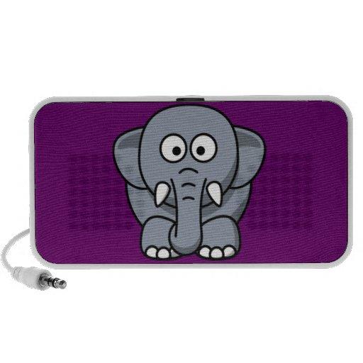 Elefante del dibujo animado iPhone altavoz