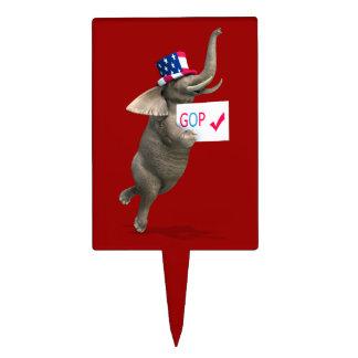 Elefante del GOP Figuras De Tarta