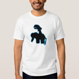 Elefante del montar a caballo del tiburón playera