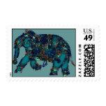 Elefante del ónix franqueo