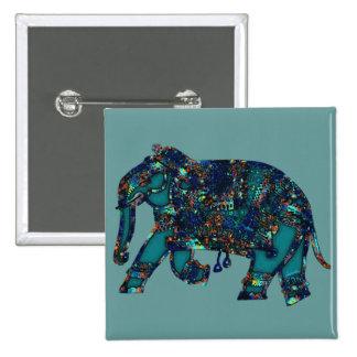 Elefante del ónix pins
