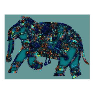 Elefante del ónix postales
