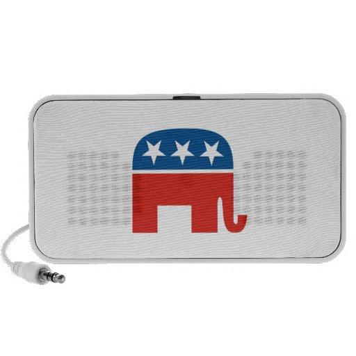 elefante del Partido Republicano de los Estados Un Mp3 Altavoces