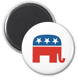 elefante del Partido Republicano de los Estados Un Imán De Nevera