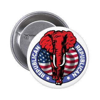 Elefante del Partido Republicano - McCain Pins