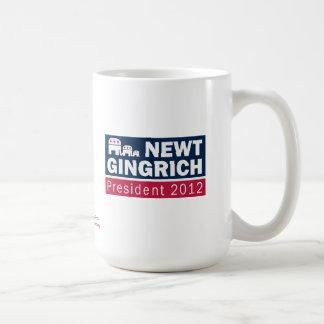 Elefante del presidente 2012 republicano de Newt Taza
