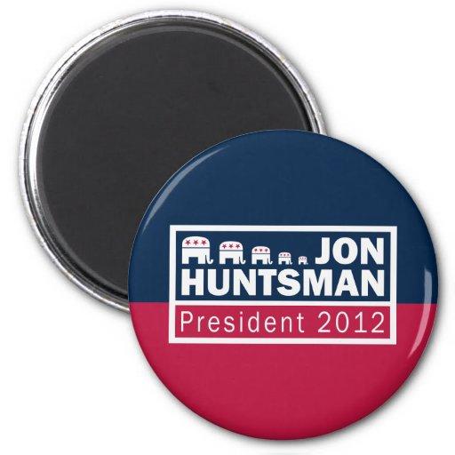 Elefante del presidente 2012 republicano del Hunts Imán Redondo 5 Cm
