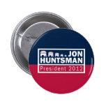Elefante del presidente 2012 republicano del Hunts Pins