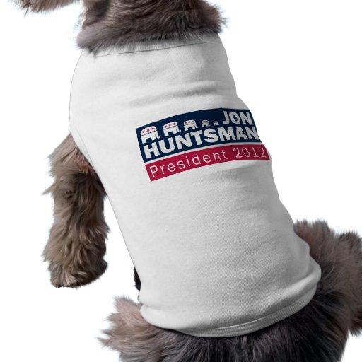 Elefante del presidente 2012 republicano del Hunts Ropa De Mascota