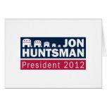 Elefante del presidente 2012 republicano del Hunts Felicitaciones