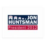 Elefante del presidente 2012 republicano del Hunts Postal