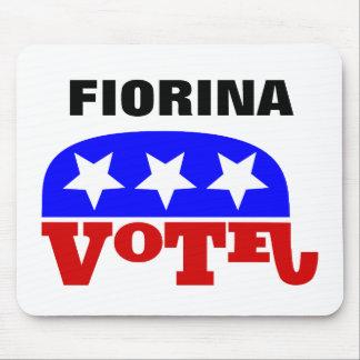 Elefante del republicano de Carly Fiorina del voto Alfombrilla De Raton