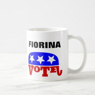 Elefante del republicano de Carly Fiorina del voto Taza