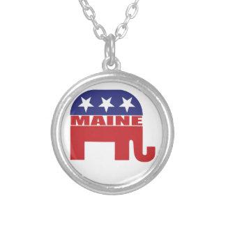 Elefante del republicano de Maine Joyería