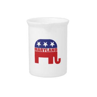 Elefante del republicano de Maryland Jarras