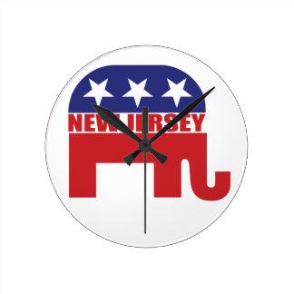 Elefante del republicano de New Jersey Relojes
