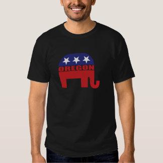Elefante del republicano de Oregon Camisas
