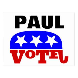 Elefante del republicano de Paul del rand del voto Tarjeta Postal