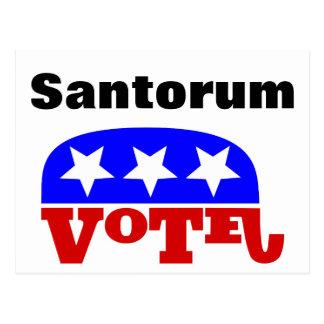Elefante del republicano de Rick Santorum del voto Postales