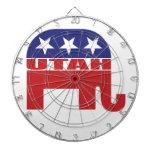 Elefante del republicano de Utah Tablero De Dardos