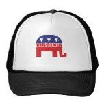 Elefante del republicano de Virginia Gorras De Camionero