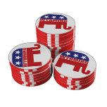 Elefante del republicano de Wyoming Juego De Fichas De Póquer