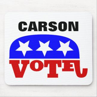 Elefante del republicano del Dr. Ben Carson del Alfombrillas De Ratón