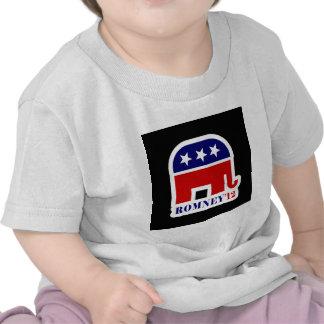 elefante del romney camisetas