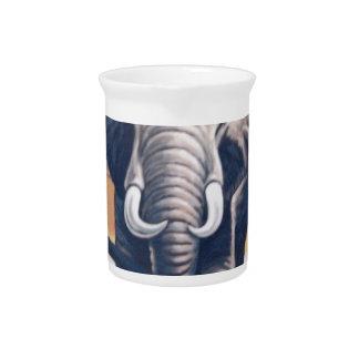 Elefante del safari jarrones