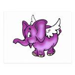 Elefante del vuelo postal