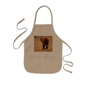 Elefante Delantal Infantil