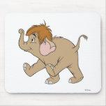 Elefante Disney del bebé Alfombrillas De Ratón