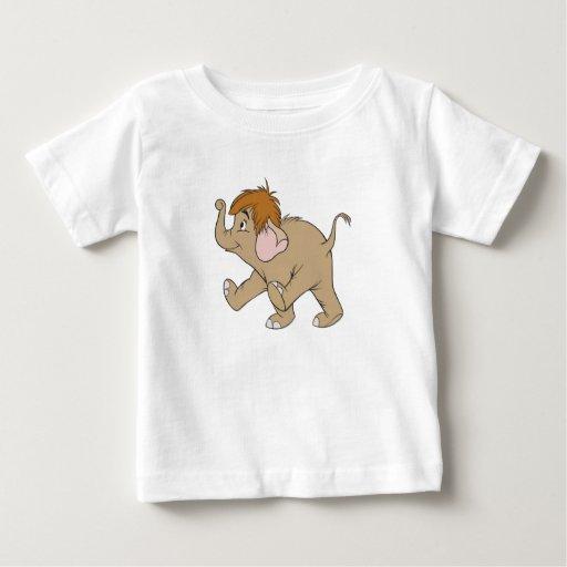 Elefante Disney del bebé Playeras