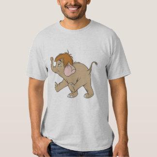 Elefante Disney del bebé Poleras