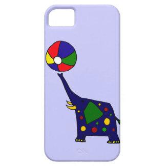 Elefante divertido y Beachball Funda Para iPhone SE/5/5s